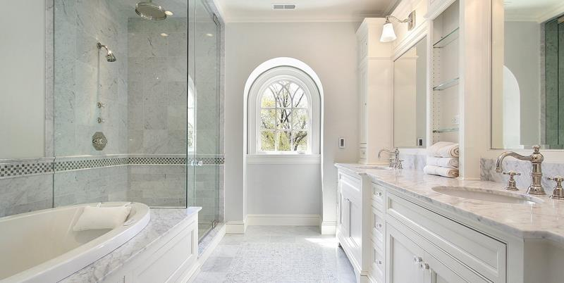Beautiful master bathrooms images galleries with a bite Bathroom design company limited