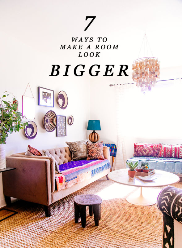 ways to make a room look bigger design services ltd