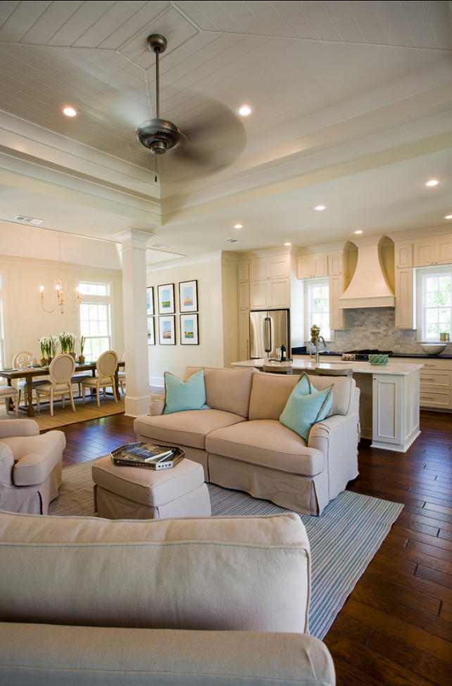 Open Concept Kitchen Great Room Designs Living