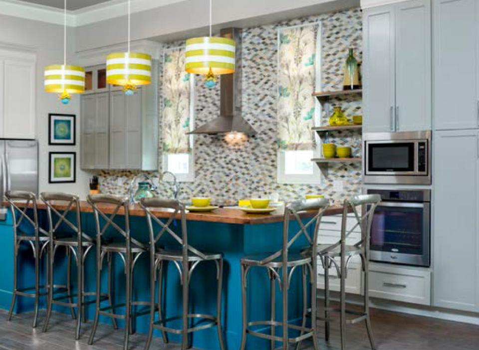 Modern kitchen color trends kitchendecorate net - 28 The Latest In Kitchen Colour Kitchen Layouts