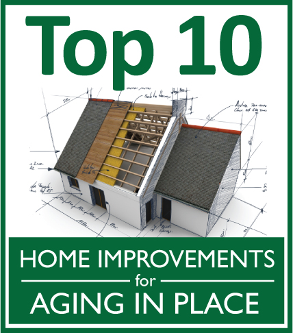 Top 10 home improvements for aging in place design for Aging in place house plans